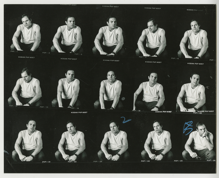 Box 12- Phil Zwickler contact sheet